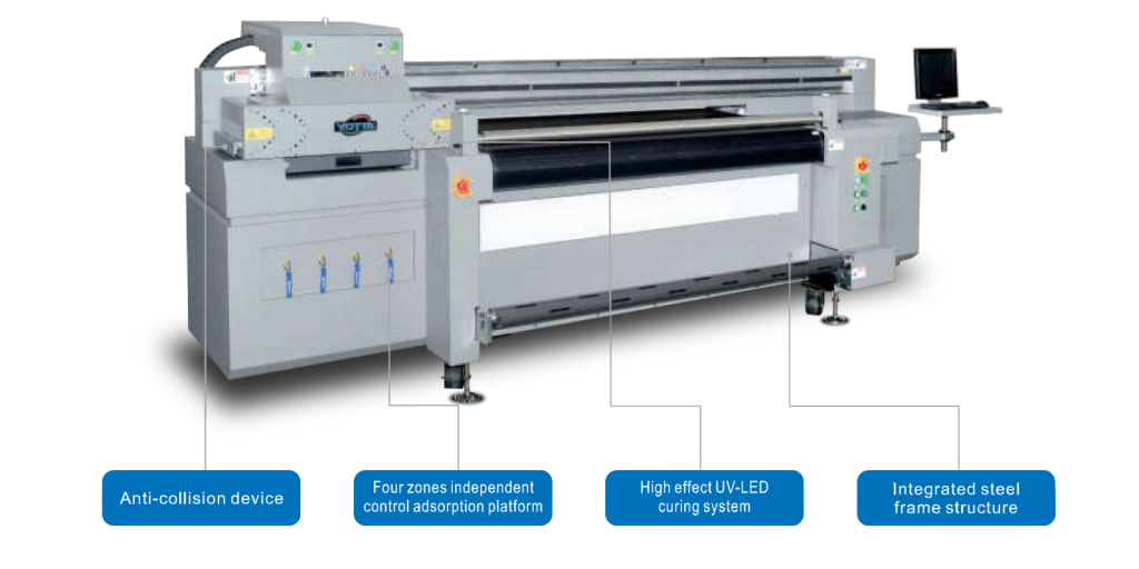 The new YD-H1800R5 Hybrid Printer at Saxon Digital Services